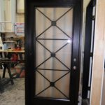 Modern Contemporary Front Entry Door-Flush Glazed Fiberglass Door by modern-doors