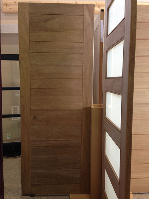 Modern Contemporary Front Entry Wood Doors