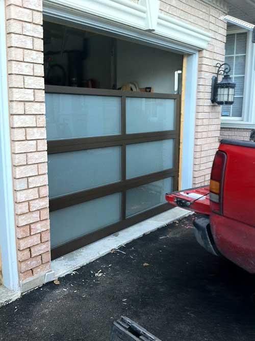 Aluminum Modern Garage Doors