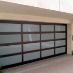 Modern Contemporary Garage Doors- Aluminum and Glass Modern Garage Doors, Frosted Glass Windows- Modern Garage Doors In Scarborough, Ontario-by modern-doors.ca-Picture#630