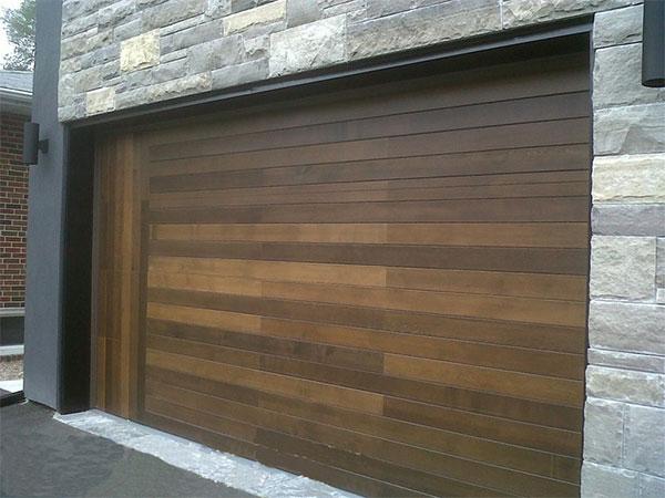Fiberglass modern contemporary garage doors for Stylish garage doors