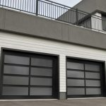 Modern Contemproray Garage Doors- Stain Glass Windows- California Design Modern Garage Doors In Richmond Hill, Ontario