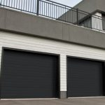 Modern Contemproray Garage Doors,Grooved Model Modern Garage Doors in Richmond Hill, Ontario
