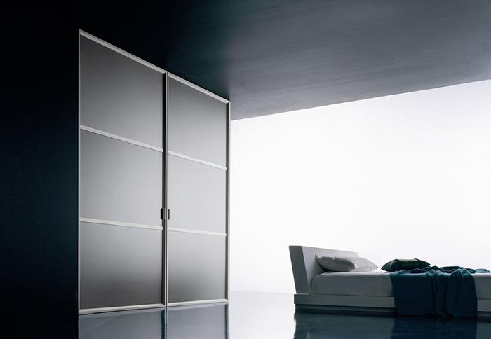 Modern Interior Fiberglass Sliding Pocket Doors