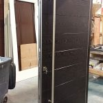 Front Entry Doors- Fiberglass Front Entry Modern Doors with Steel handle during Manufactring by modern-doors