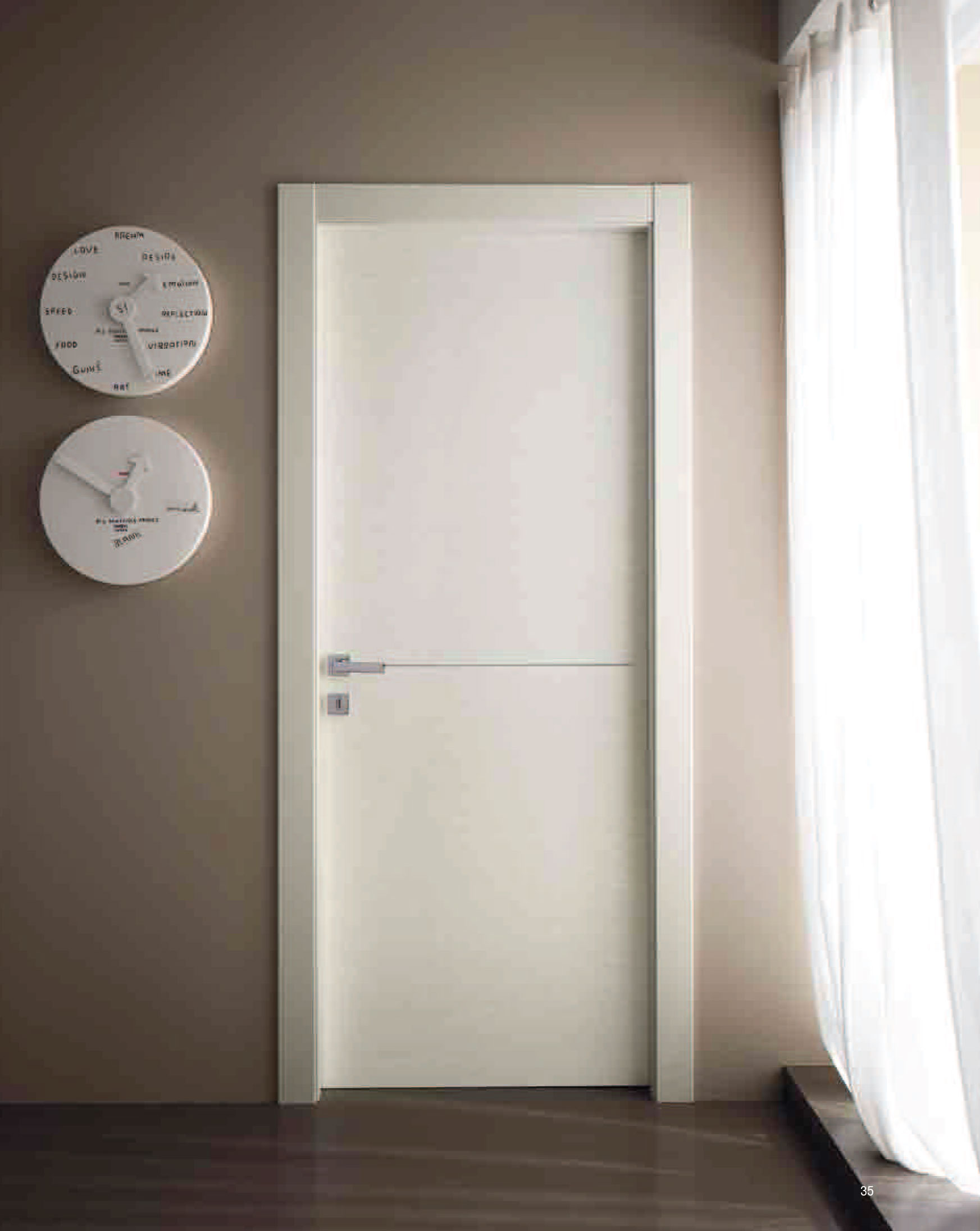 Modern interior doors archives modern doors modern hinged italian door white ash color modern interior doors eventelaan Gallery