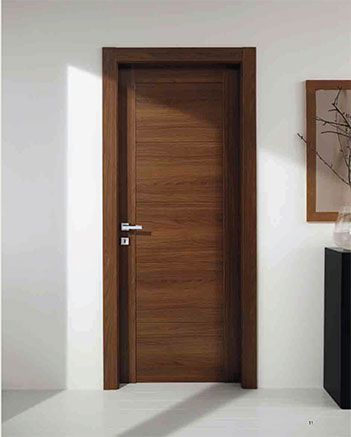 Modern interior italian door with magnet hinged door Italian garage doors