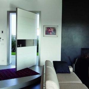 Oakville Modern Doors-Solid Fiberglass  Modern Contemporary Front Entry Door in Maple, Ontario by modern-doors.ca