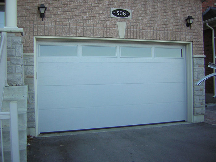 Modern Garage Doors Fiberglass Modern Garage Door With 4