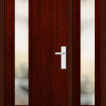 Richerson Mastergrain Contemporary Collection Fiberglass Front Doors