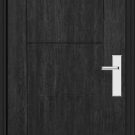 Richerson Mastergrain Fiberglass Entry Doors COntemporary Collection