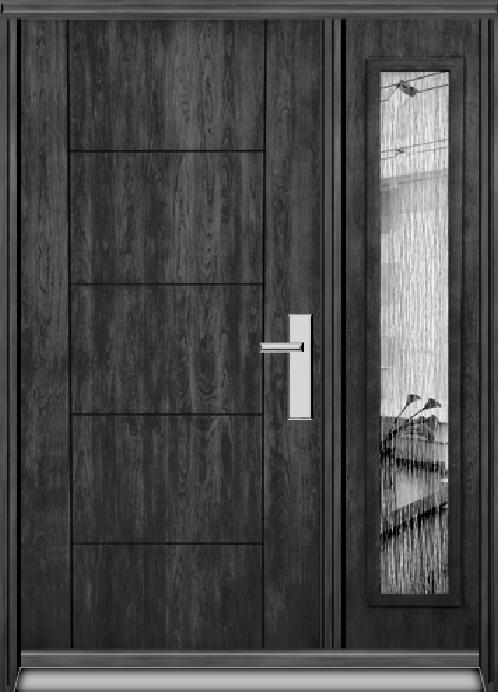 Richerson Mastergrain Fiberglass Front Entry Doors