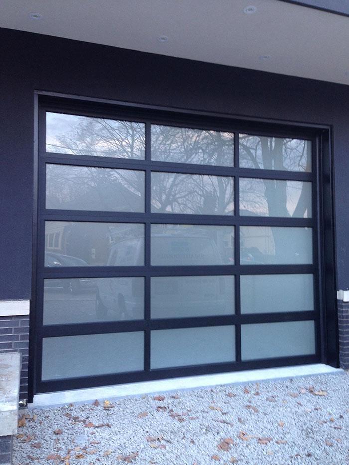Translucent garage doors for Opaque garage door