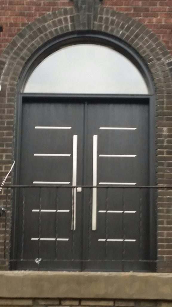 Modern Exterior Door installed in Toronto