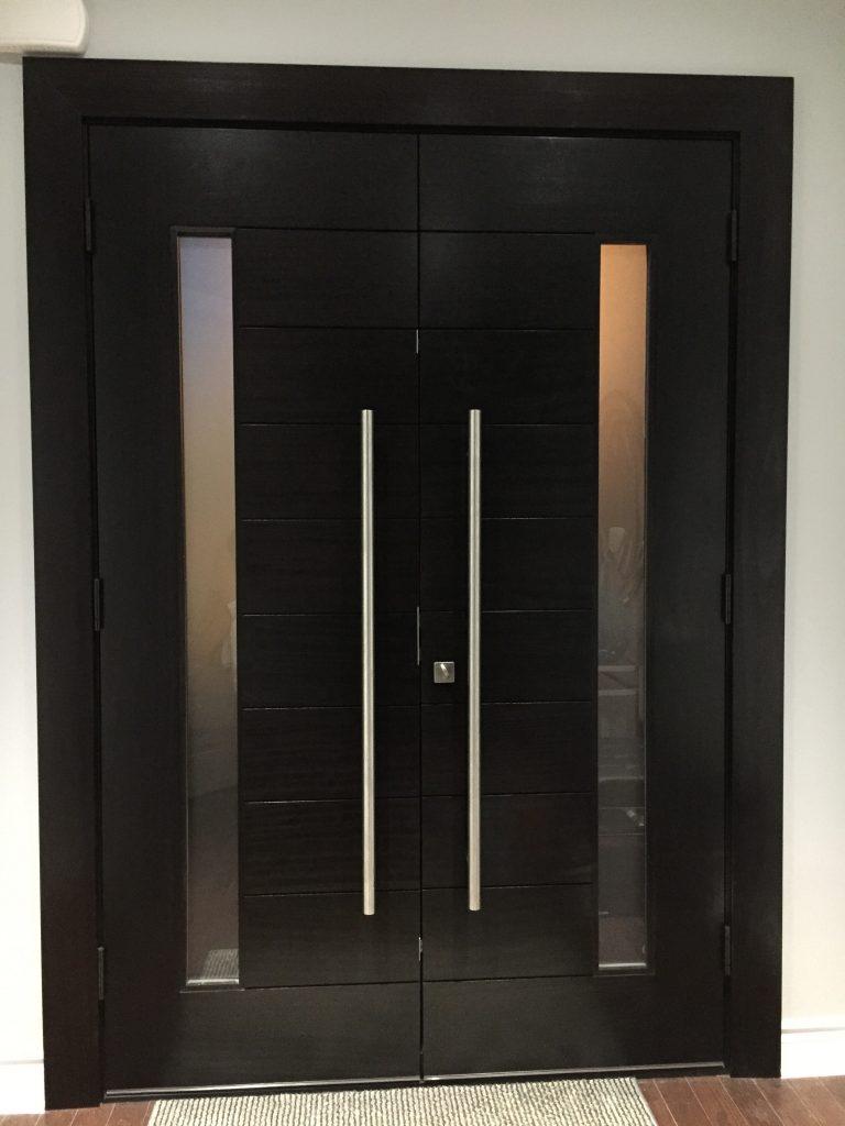 Modern exterior door solid wood modern doors - Exterior wood door manufacturers ...