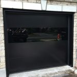 Modern Glass Exterior | Garage Door