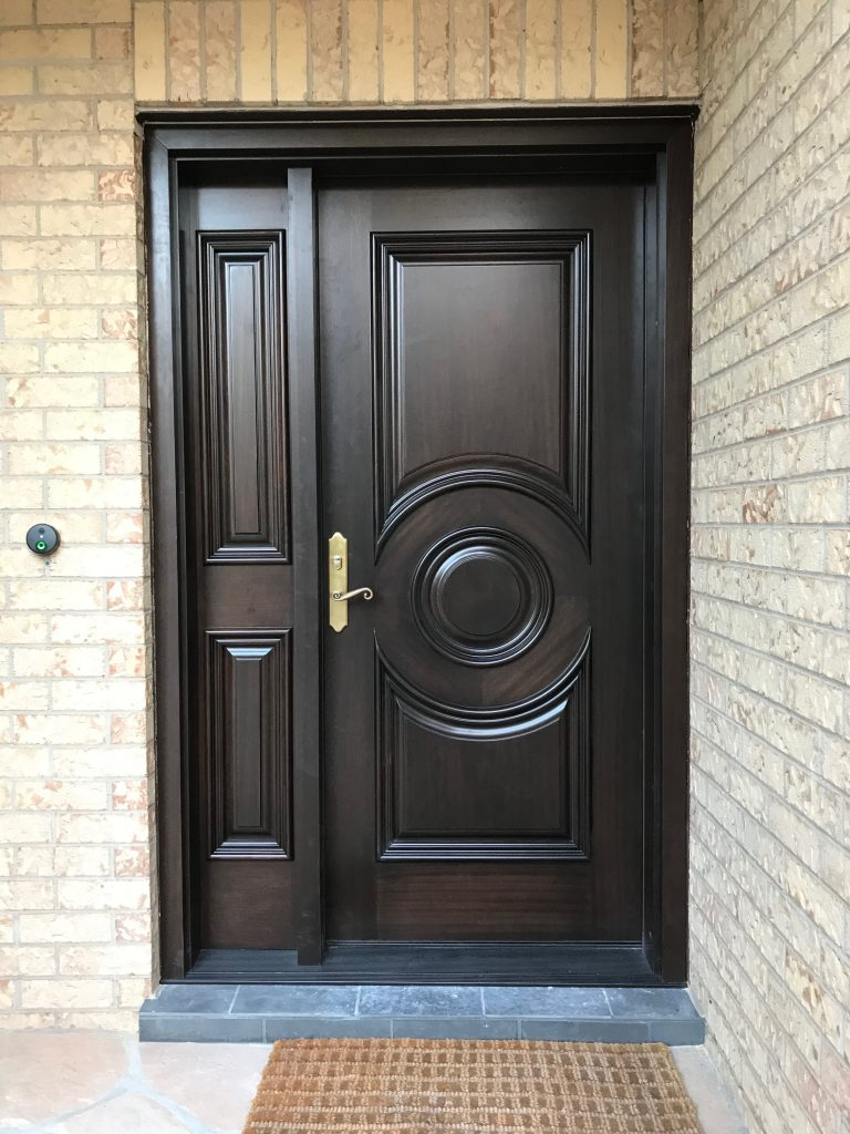 Modern Exterior Single Door Ontario Modern Doors