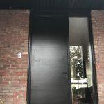 Oversized Modern Exterior Door Side Light