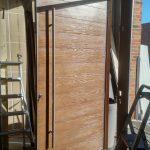 Oversized Modern Exterior Front Entry Door