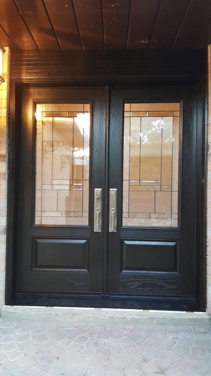 Traditional Double Front Entry Door Toronto Modern Doors