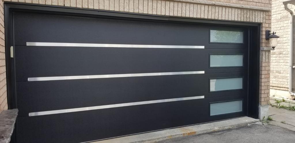 Modern Fiberglass Door 4 Panel Frosted Glass 1 Modern Doors