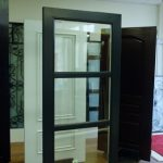 Modern Contemporary Front Entry Door-Contemporary Front Fiberglass Entry Door With Glass designs by modern-doors.ca-Picture#MED124