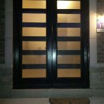 Modern Contemporary Front Exterior doors with multi point locks installed by modern-doors.ca in Scarborough, Ontario-Picture#MED145