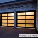 Modern Contemporary Garage Doors- Aluminum and Glass Modern Garage Doors, Frosted Glass Windows In King, Ontario-by moderndoors.ca-by modern-doors.ca-Picture#632