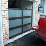 Modern Contemporary Garage Doors- Aluminum and Glass Modern Garage Doors, Frosted Glass Windows- Modern Garage Doors In King, Ontario-by moderndoors.ca-by modern-doors.ca-Picture#633