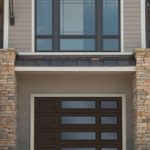 Modern Contemporary Garage Doors-Double-right Harmony Window Layout Modern Garage Door in Scarbourough, Ontario by www.modern-doors