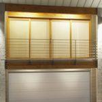 Modern Contemporary Garage Doors-Tex White Colour Modern Garage Door in Maple, Ontario by www.modern-doors.ca