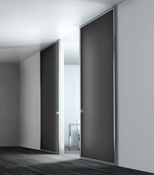 Fiberglass Modern Interior Sliding Doors