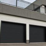 Modern Contemproray Garage Doors,Grooved Model Modern Garage Doors in Richmond Hill, Ontario