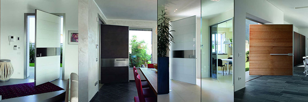 Modern Entry Front Doors, Front Exterior Fiberglass Doors Installed in Toronto-