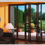 Modern Bio Folding Doors-Modern Contemporary Bio-Folding Doors installed by www.Modern-Doors.ca in Woodbridge, Ontario