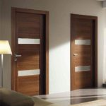 Modern Interior Italian Doors- DOOR BATTENTE WEDDING and HINGED DOOR WALNUT installed in Oakville- Ontario by Modern-doors