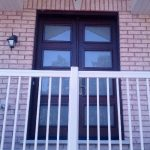Modern Double Front Entry Doors installed in Newmarket by Windows and Doors Toronto