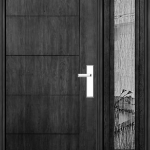 Richerson Mastergrain Contemporary Collection Fiberglass Entry Doors