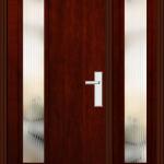 Richerson Mastergrain Contemporary Collection Fiberglass Front Doors