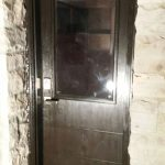 Fiberglass Side Door-Modern Fiberglass Door Installed by Modern Doors