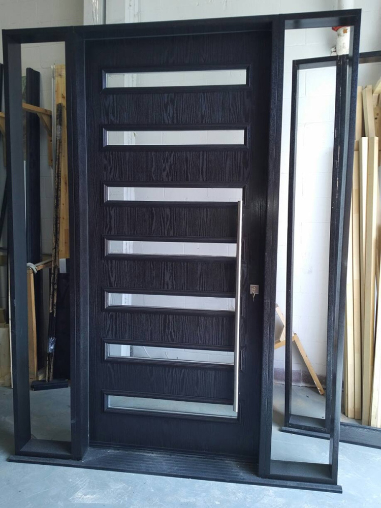 Custom Modern Door Custom Exterior Modern Door With 2 Site
