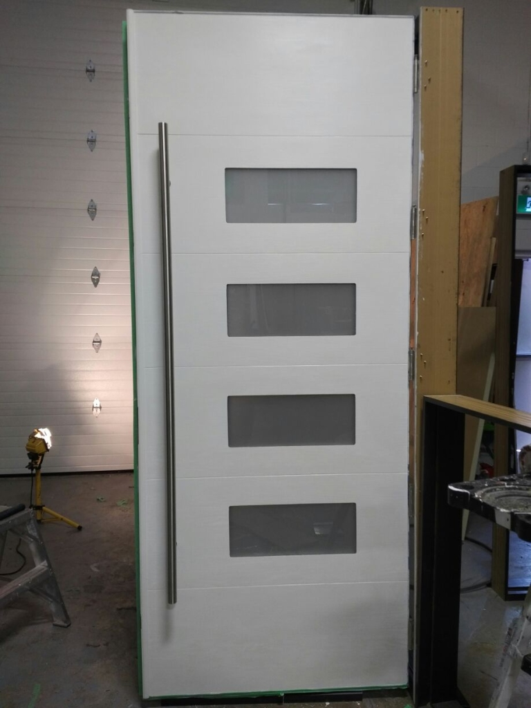 Oversized Modern Exterior double Doors - By Modern-Doors Toronto