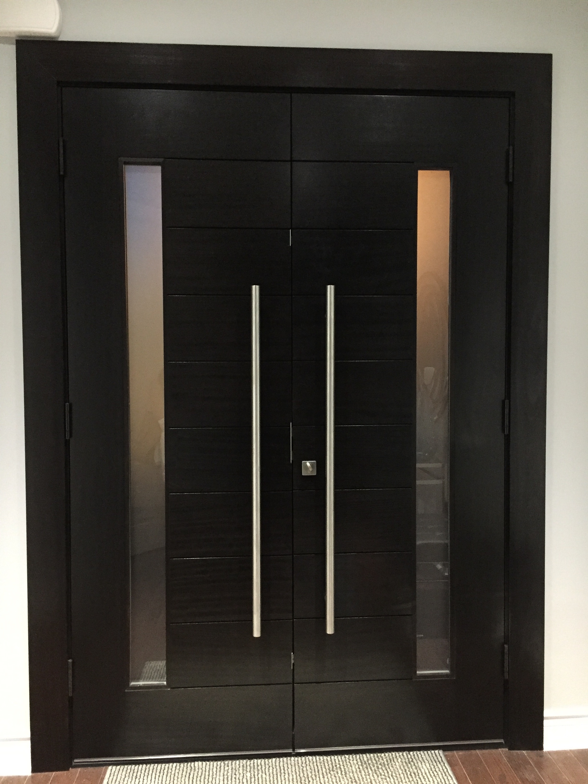 Modern Exterior Door | Solid Wood