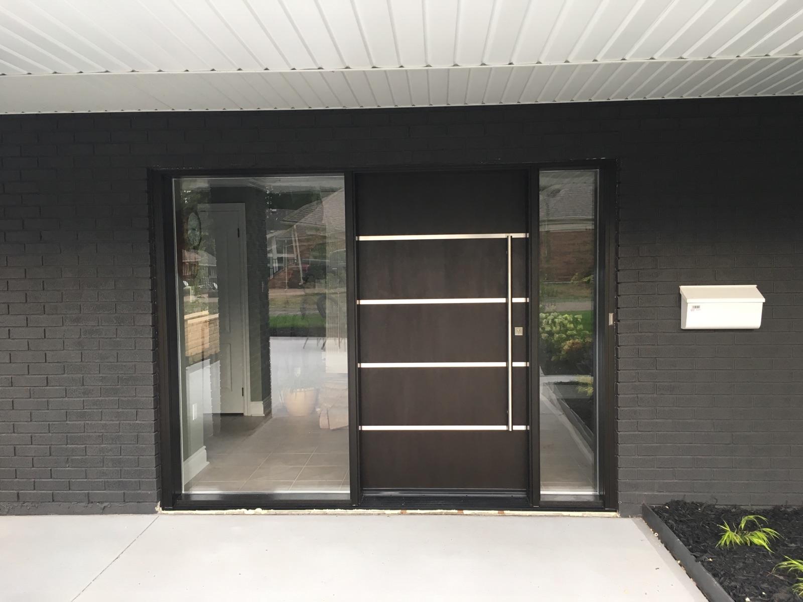 Modern Exterior Door Installed in Sarnia Ontario