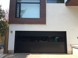 Modern Exterior Glass Garage Door