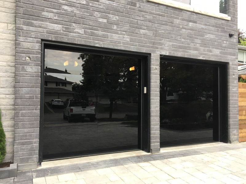 Modern Glass Garage Door Vaughan Modern Doors