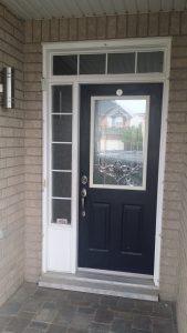 Modern Exterior Stainless Steel Door | Vaughan