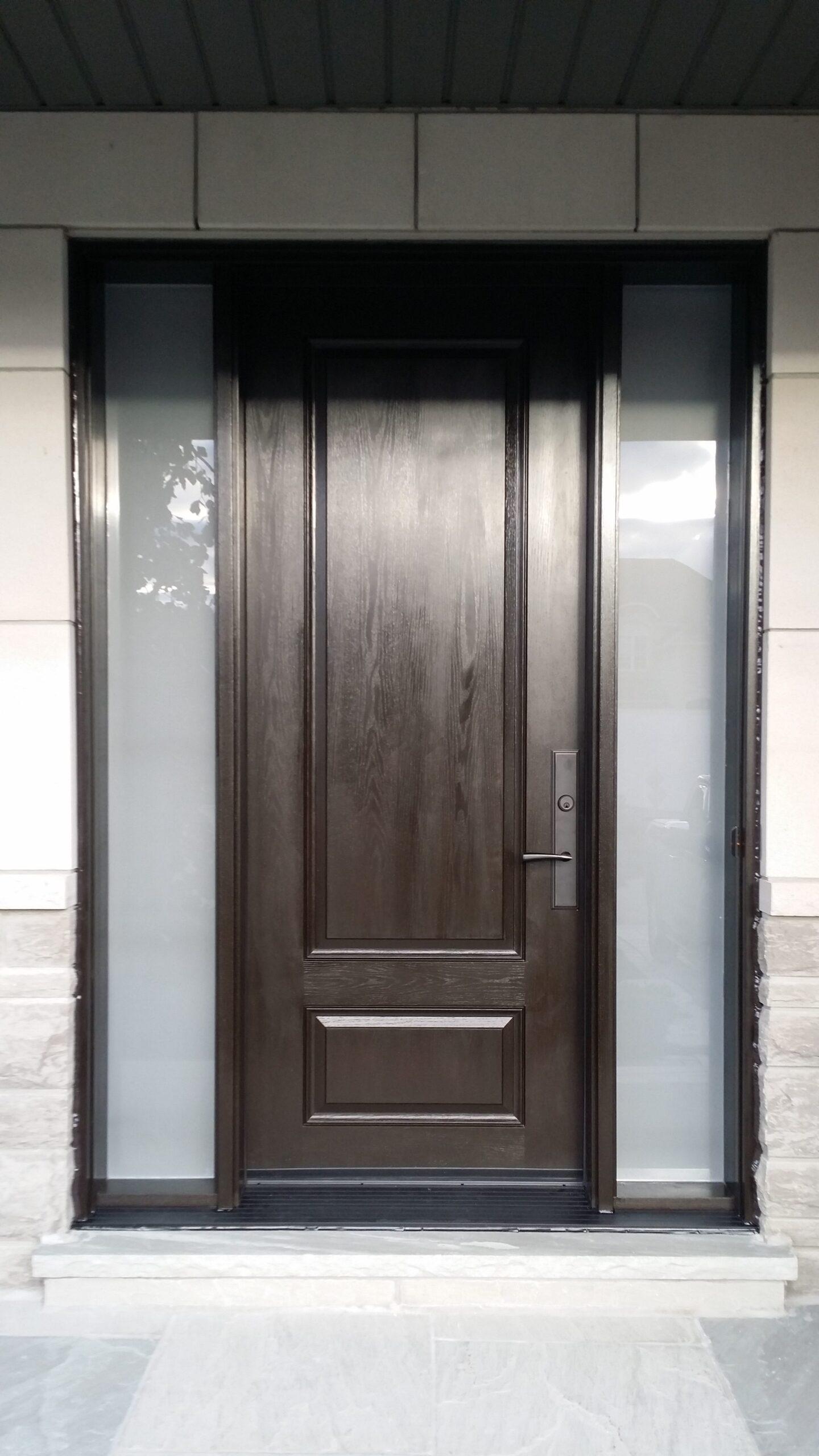Modern Exterior Front Door Toronto