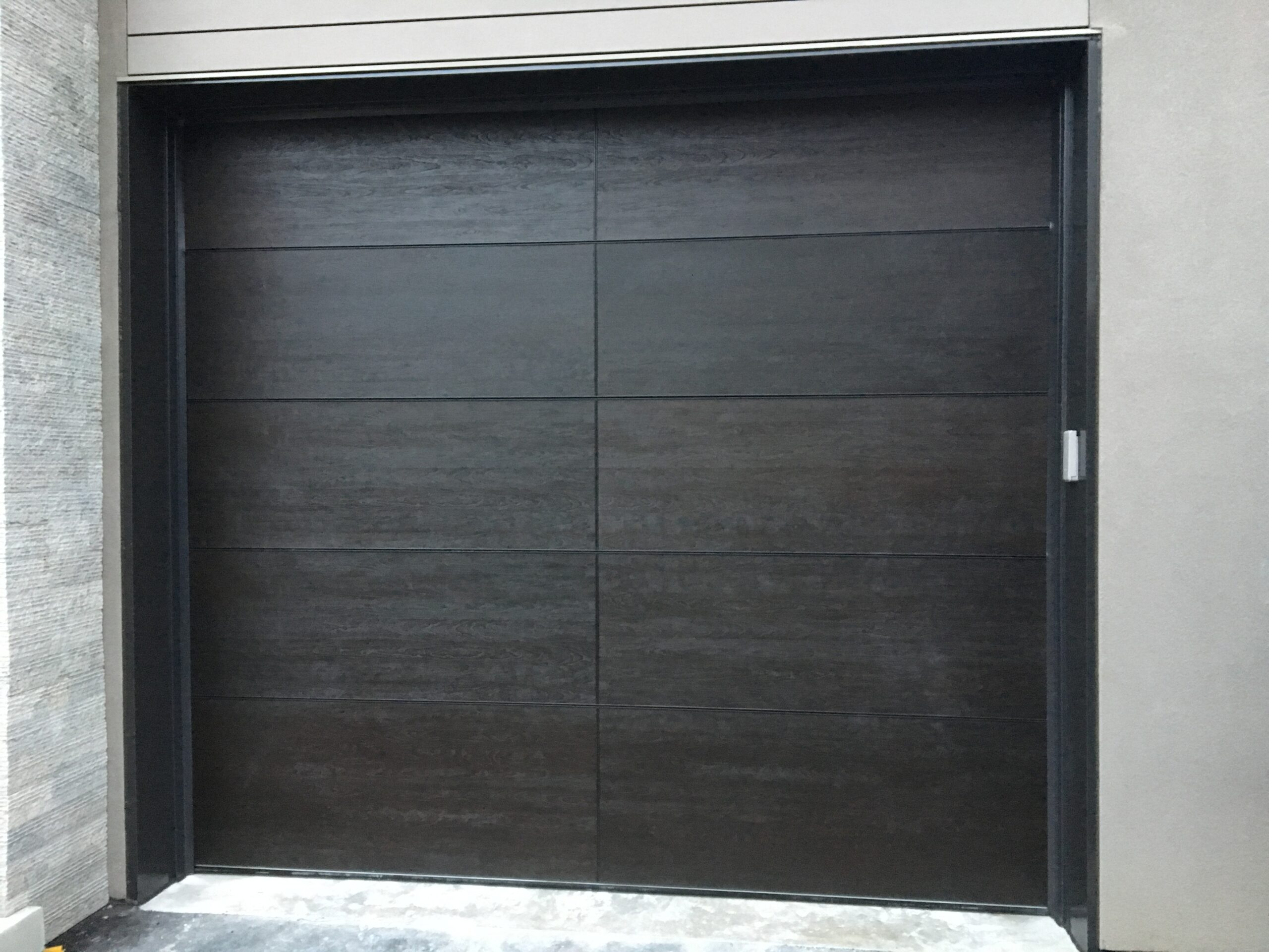 Modern Fibreglass Exterior Garage Door