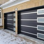 Modern Garage Doors Frosted Glass